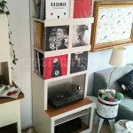 Vinyl-Plattenschrank