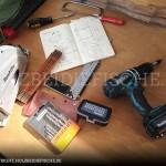 Benötigtes Werkzeug für das Projekt