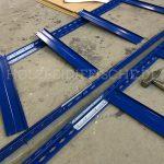 Metall Regal Teile Aufbau