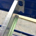 Metall Regal Unterzug