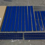 Metall Steckregal Bauteile