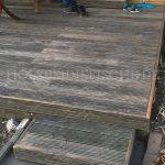 Holzterrasse beide Stufen