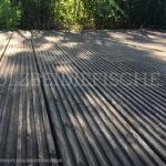 Holzterrasse detailansicht